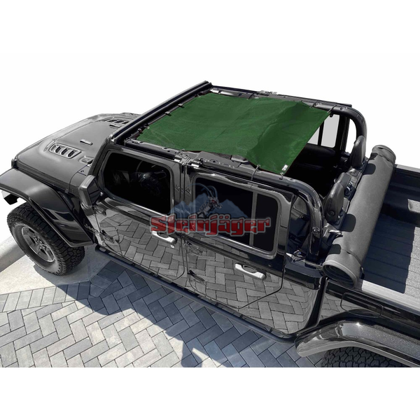 Steinjager Gladiator JT Tops, Fabric Teddy Fits Jeep Gladiator JT, 4 Door J0049330