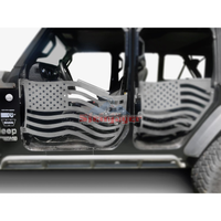 Steinjager Front Doors American Flag Fits Jeep JT Gladiator 2019 - Present J0049369