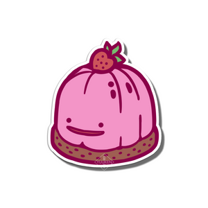 #109 Ditto Berry Jelly Vinyl Sticker