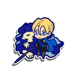#113 Dimitri of the Blue Lions Vinyl Sticker