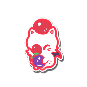#128 Moogle Vinyl Sticker