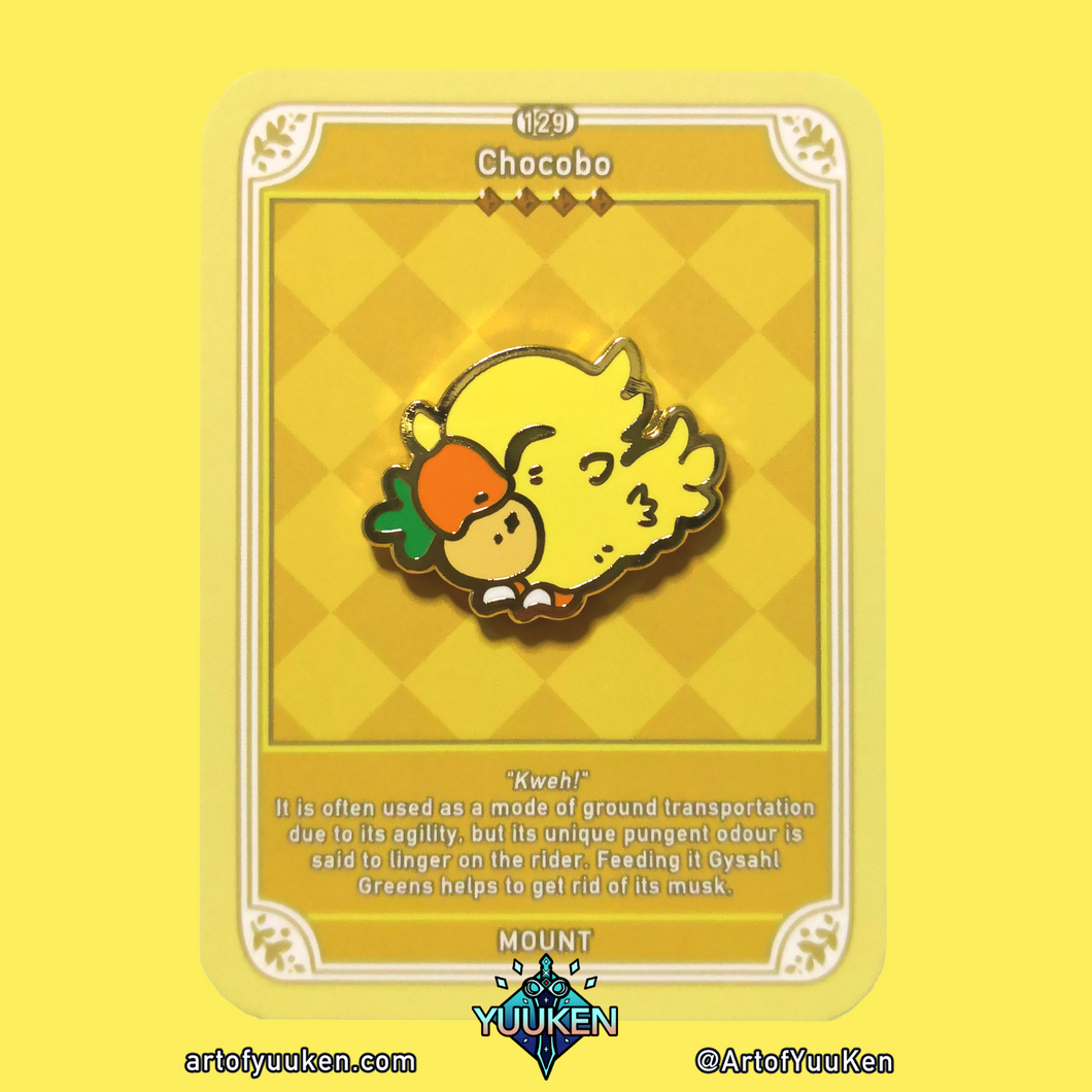 #129 Chocobo Enamel Pin