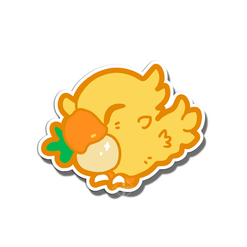 #129 Chocobo Vinyl Sticker