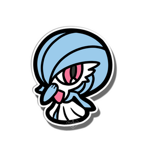 #165 Shiny Gardevoir Vinyl Sticker