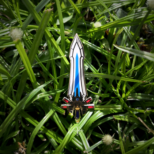 #167 Ultima Weapon Enamel Pin