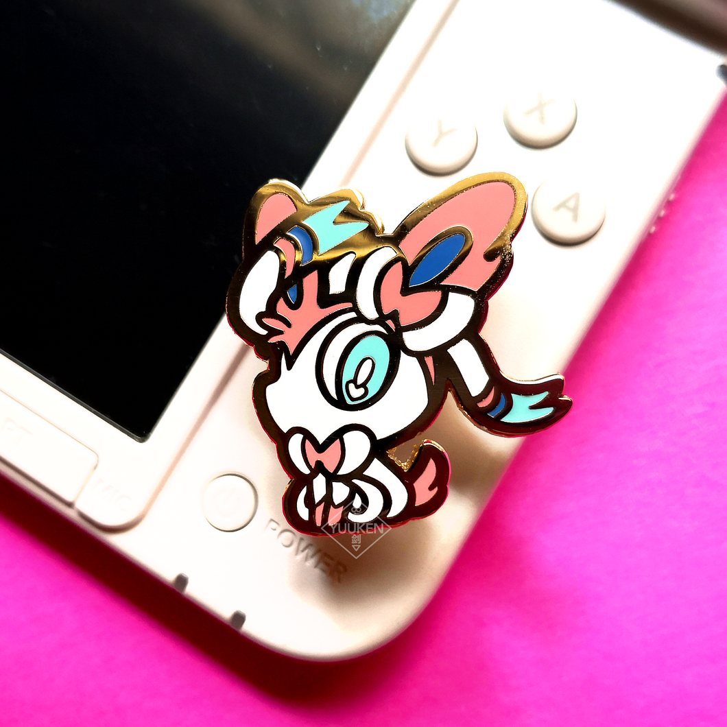 #155 Sylveon Enamel Pin