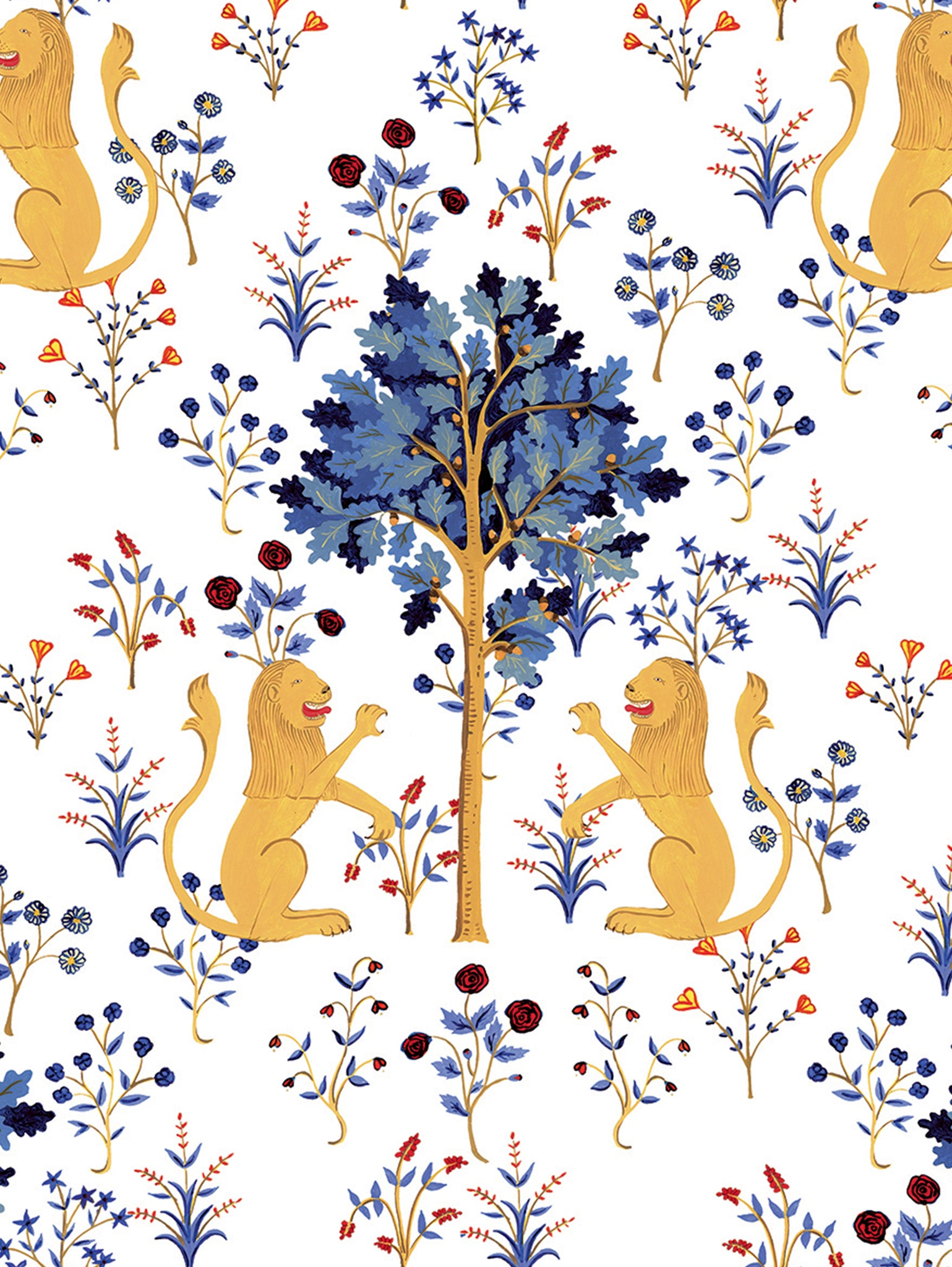 PAPEL DE PARED - MEDIEVAL TAPESTRY / WALL PAPER