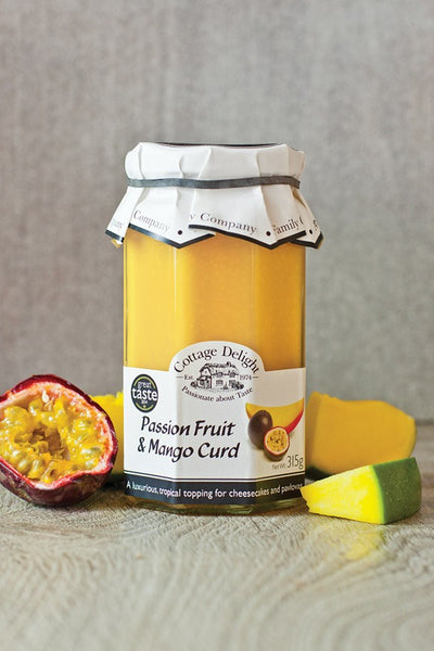 Cottage Delight Passionfruit & Mango Curd 315g