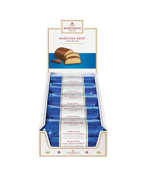 Niederegger Milk Chocolate covered Marzipan Loaf 125g