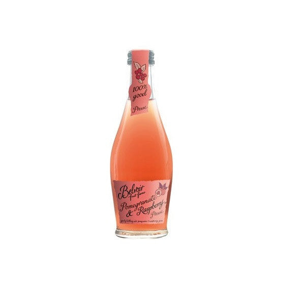 Belvoir Sparkling Presse Pomegranate & Raspberry 250ml