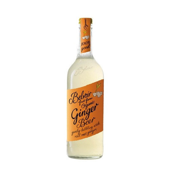 Belvoir Organic Presse Ginger Beer 750ml