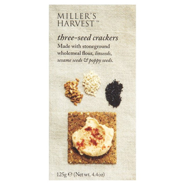 Miller's Harvest Three-Seed Crackers
