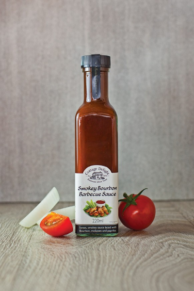 Cottage Delight Smokey Bourbon BBQ Sauce 220ml