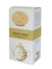 Artisan Elegant & English Ginger & Lemon Biscuits 125g