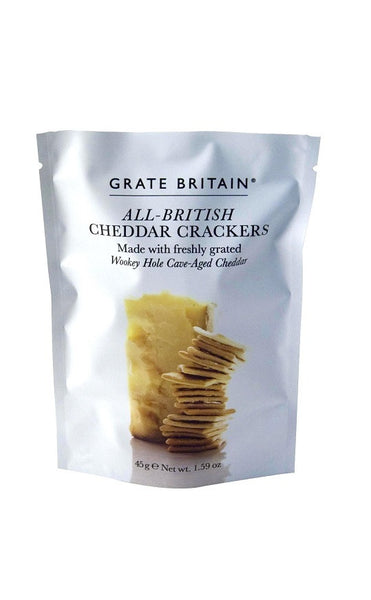 Grate Britian Cheddar Biscuits Pouch