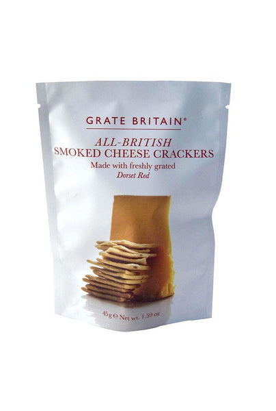 Grate Britian Smoked Cheese Biscuits Pouch