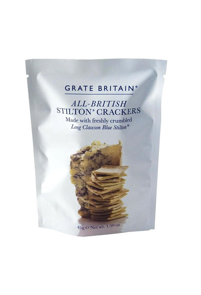 Grate Britain Stilton Cracker Pouch 45g