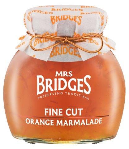 Mrs Bridges Fine Cut Orange Marmalade