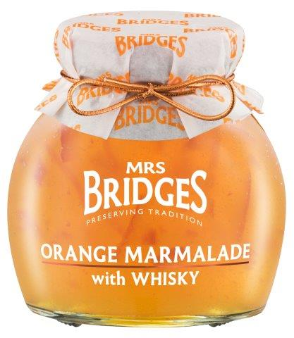 Mrs Bridges Orange Marmalade With Whiskey