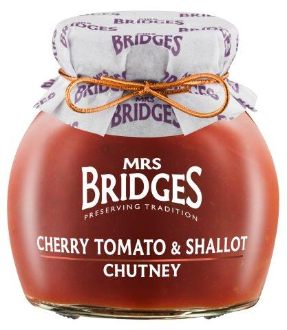 Mrs Bridges Cherry Tomato & Shallot Chutney