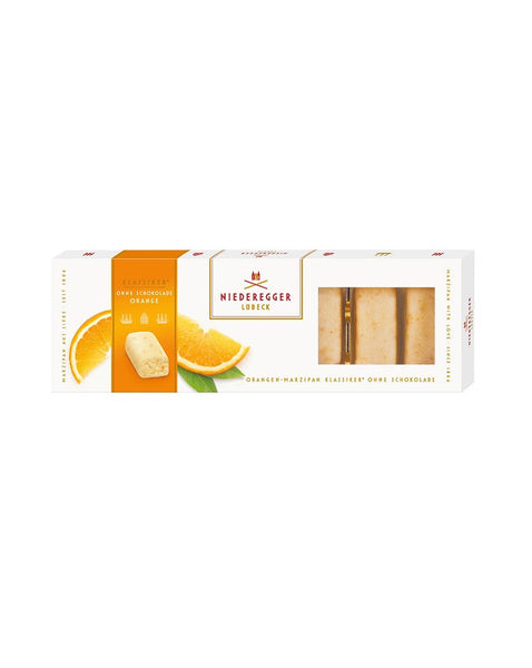 Niederegger Orange Marzipan Pieces 100g