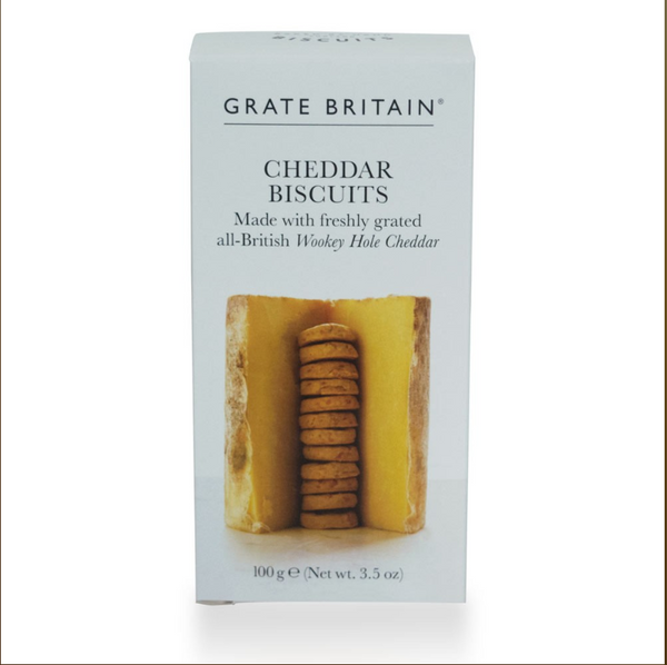 Grate Britian Cheddar Biscuits Boxed