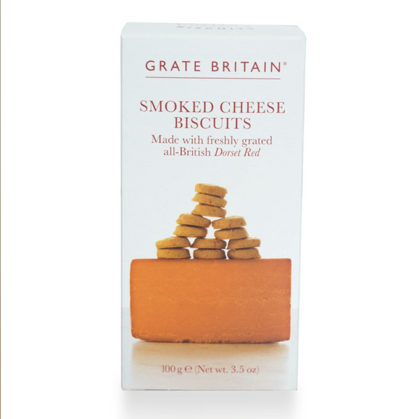 Grate Britian Smoked Cheese Biscuits Boxed