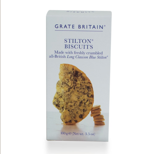 Grate Britian Stilton Biscuits Boxed