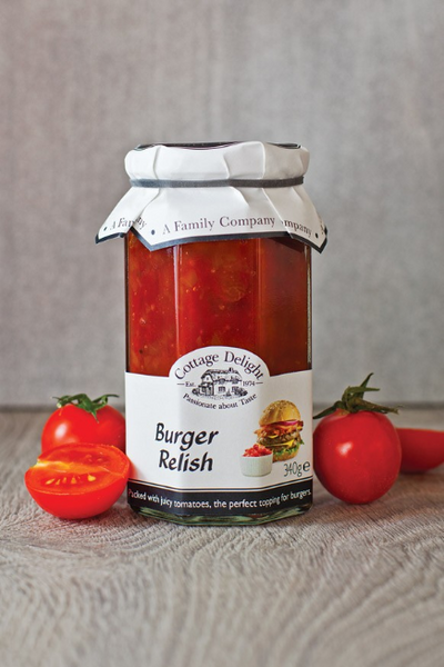 Cottage Delight Old Burger Relish 310g