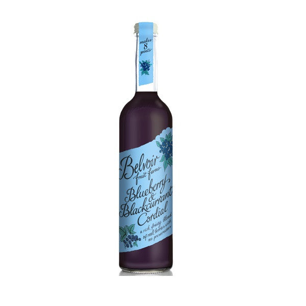 Belvoir Cordial Blueberry & Blackcurrant 500ml