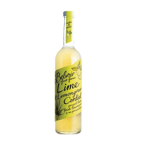Belvoir Cordial Lime & Lemongrass 500ml