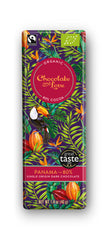 Chocolate and Love Panama Dark Chocolate Bar 80%