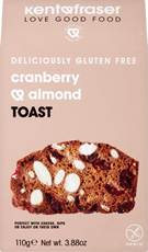Cranberry & Almond Toast 110g