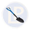 LP Short Fibreglass Spade 700mm