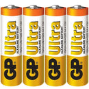 Ultra Alkaline AA Batteries 4 Pack