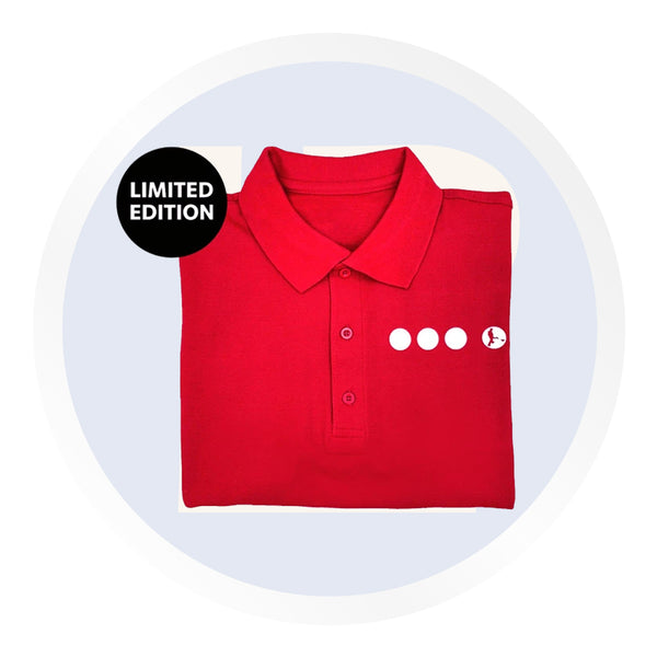 Searcher Red Polo Shirt