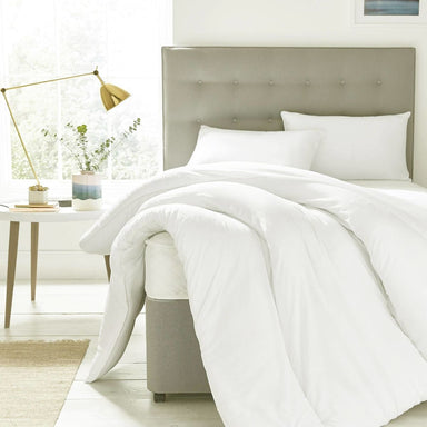Blankets & Quilts 310TC Queen Duvet cover pure cotton white colour 80X90 inches. - by Veebee design Studio