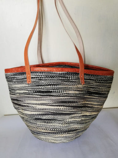 Baskets & Storage African woven sisal bag market basket Christmas gift for her - Title by Naruki Crafts