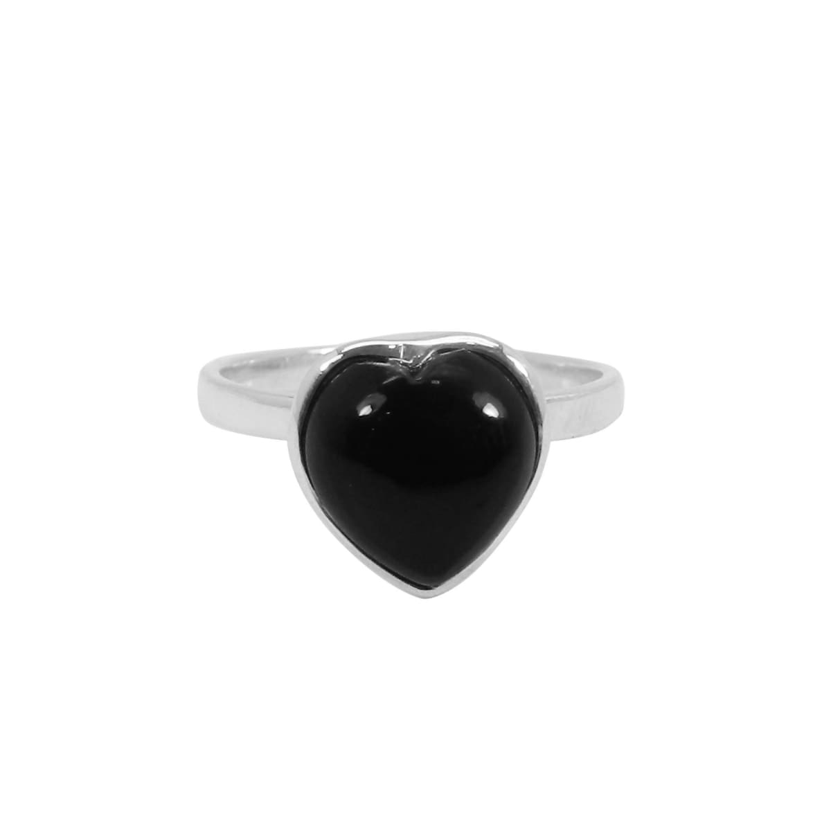 Rings Black Onyx Ring Silver 925 Solid Sterling Boho Handmade Sizes 4 to 14 US