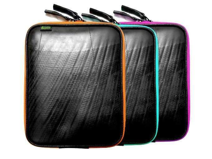 Cases & Sleeves Black Recycled Rubber Ipad / Tablet cover From Inner Tube