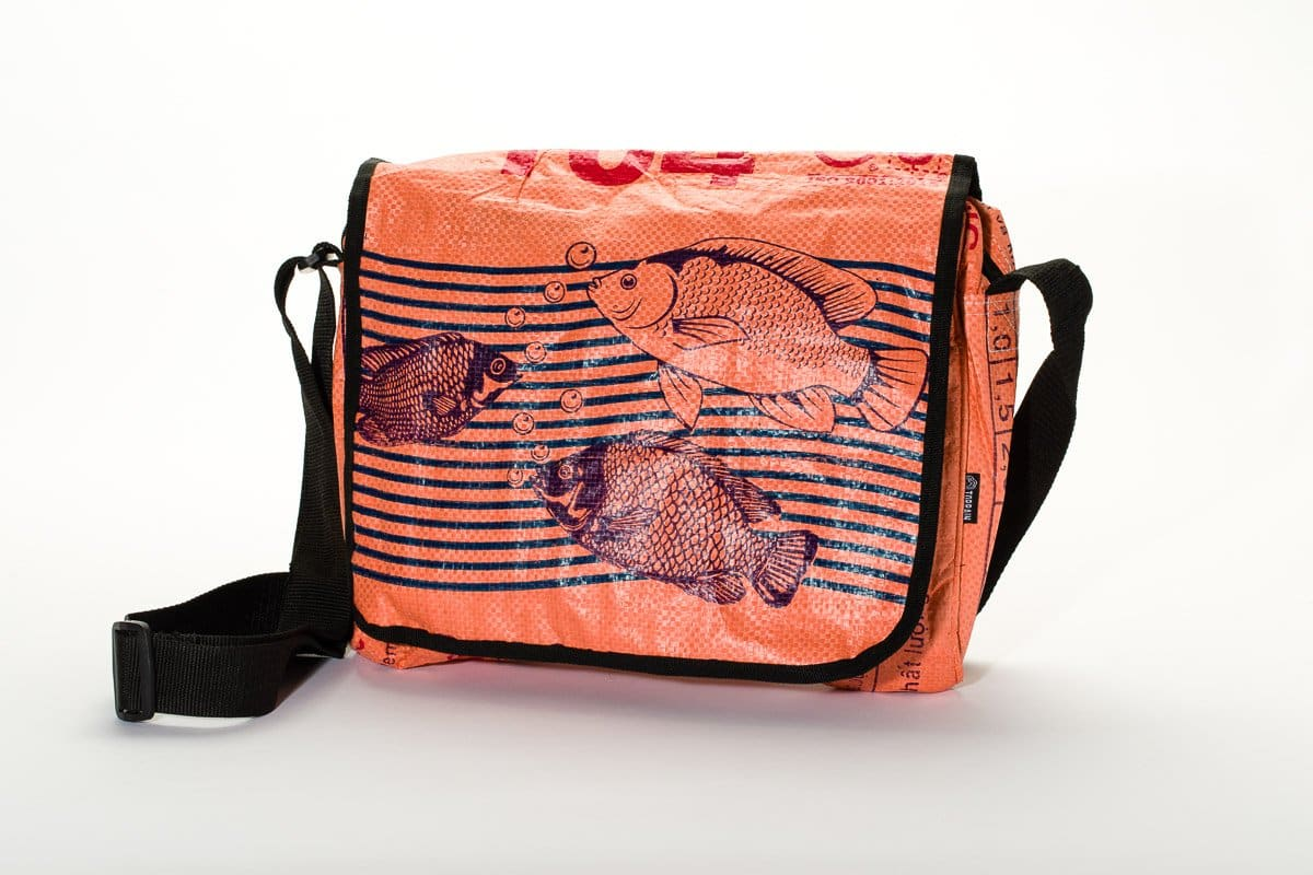 Messenger Bags Central - Tangerine Fish by TORRAIN