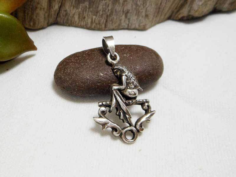 Necklaces Delightful Handcraft Sterling Silver Virgo Star Sign Charm,Virgo Zodiac Charm,Birth Charm,Birthday Gifts,Personalized Gifts