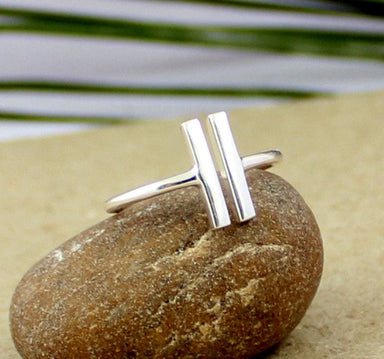 Rings designer silver ring plain funky daily wear