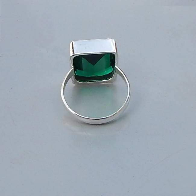Rings Diopside Quartz Gemstone Solid 925 Sterling silver Ring Unique Birthstone