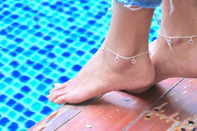 Anklets Dreamcatcher Anklet Silver Delicate Gift Jewelry jewelry Bridesmaid Anklet,Minimalist Gypsy (AS 54)