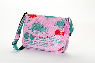 Shoulder Bags Essence Crossbody Bag - Pink Fish by TORRAIN