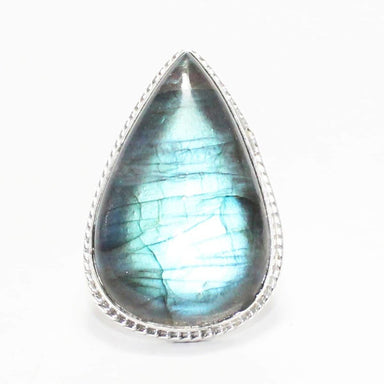 Rings Exclusive NATURAL FIRE LABRADORITE Gemstone Ring Birthstone 925 Sterling Silver Fashion Handmade All Size Gift