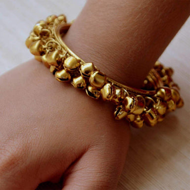 Bracelets Gold Ghungroo Bangle | Indian | Jewelry | Must Have