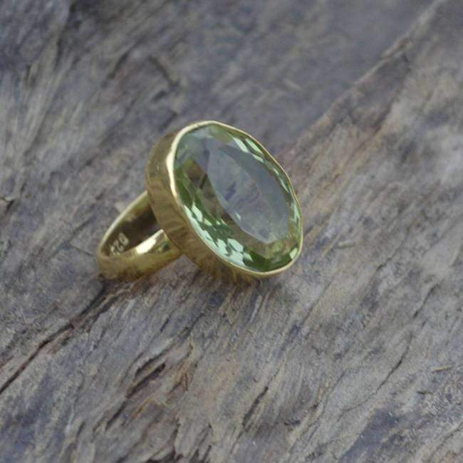 Améthyste /& Citrine Ring//TAILLE 8//925 Sterling Silver,
