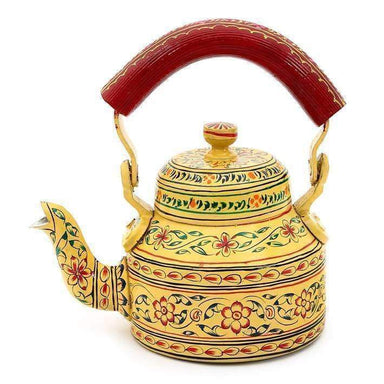 Painted Teapots Handmade Beautiful Kaushalam Teapot: Elegance